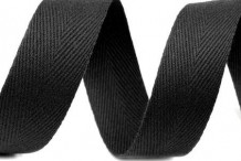 Ruban Sergé Coton 25mm